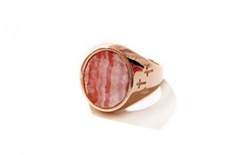 CONTACT RING RHODOCHROSITE