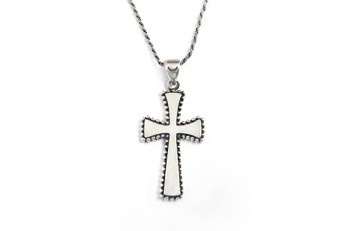 CROSS NECKLACE L